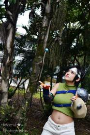 Yuffie Kisaragi from Final Fantasy VII worn by Yu Kisaragi