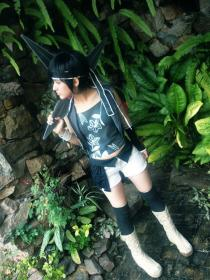 Yuffie Kisaragi from Final Fantasy VII: Advent Children worn by Yu Kisaragi