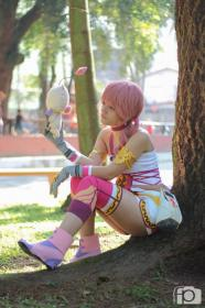 Serah Farron from Final Fantasy XIII-2 worn by Yu Kisaragi