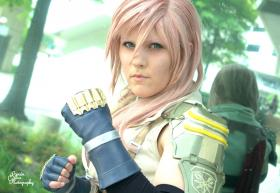 Lightning from Final Fantasy XIII worn by Kynessent