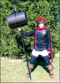 Lavi from D. Gray-Man worn by Kynessent