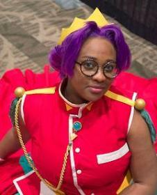 Anthy Himemiya from Revolutionary Girl Utena worn by Black Bettie