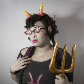 Meenah Peixes from MS Paint Adventures / Homestuck worn by Black Bettie