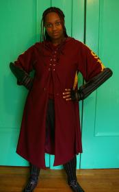 Angelina Johnson from Harry Potter worn by Black Bettie
