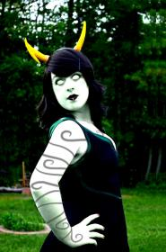 Porrim Maryam from MS Paint Adventures / Homestuck worn by Fis♓ Bitc♓