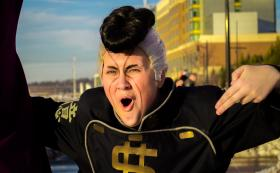 Okuyasu Nijimura from Jojo's Bizarre Adventure worn by Mooey