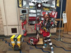 Gaige from Borderlands 2 worn by Emma Rubini