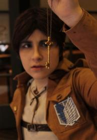 Eren Yeager from Attack on Titan  by Baszle