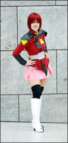 Lunamaria Hawke from Mobile Suit Gundam Seed Destiny worn by Sailor Dark Pluto
