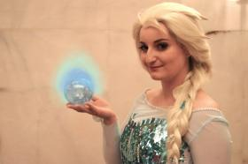 Elsa from Frozen worn by Withrin Cosplay