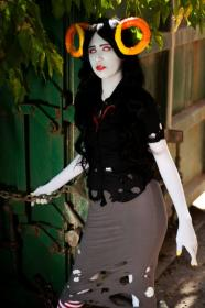 Prototyped Black Queen from MS Paint Adventures / Homestuck worn by yasmine