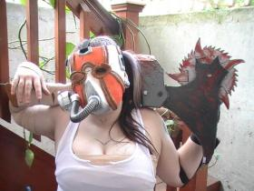 Krieg the Psycho from Borderlands 2 worn by Miss Quinn