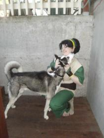 Toph Bei Fong from Avatar: The Last Airbender worn by Miss Quinn