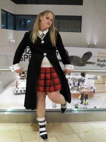 Maka Albarn from Soul Eater worn by Rebel Cosplay