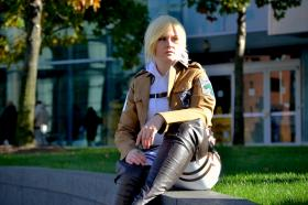 Annie Leonhardt from Attack on Titan worn by Rebel Cosplay