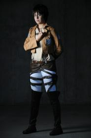 Eren Yeager from Attack on Titan worn by Khainsaw