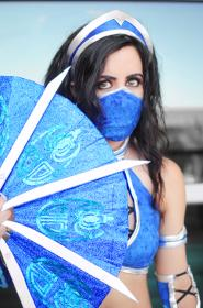 Kitana from Mortal Kombat by Khainsaw