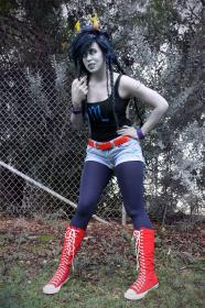 Vriska Serket from MS Paint Adventures / Homestuck worn by Khainsaw