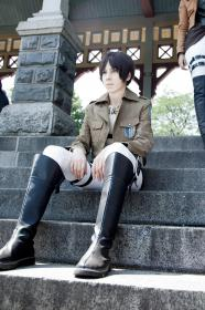 Eren Yeager from Attack on Titan  by krhaku