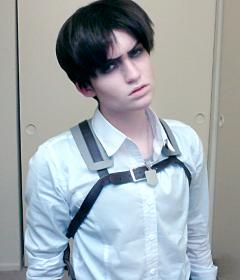 Levi from Attack on Titan worn by Napalm