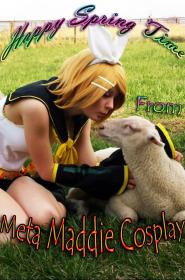 Kagamine Rin from Vocaloid 2  by Meta Maddie