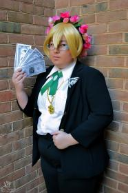 Byakuya Togami from Dangan Ronpa worn by Treblecrafts