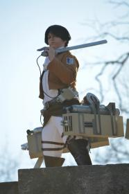 Levi from Attack on Titan worn by Kaku