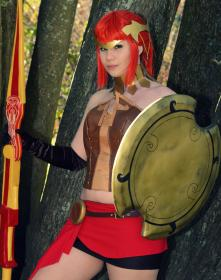 Pyrrha Nikos from RWBY worn by cheerykokiri