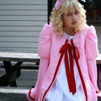 Hinaichigo from Rozen Maiden worn by Emmy Doll