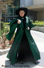 Professor McGonagall from Harry Potter worn by Blona Buttercap