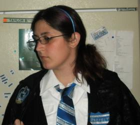 Ravenclaw Student from Harry Potter worn by Blona Buttercap