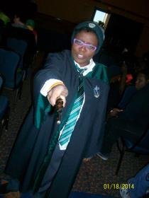 Slytherin Student from Harry Potter worn by Nozonda Nichi