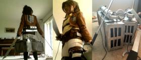 Hanji Zoe from Attack on Titan  by Yume Ayonie
