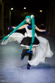 Hatsune Miku from 7th Dragon