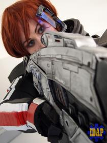 Commander Shepard from Mass Effect 3  by LadyCels