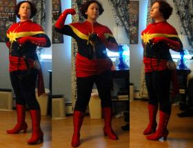 Captain Marvel from Marvel Comics