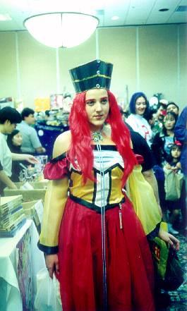 Princess Kakyuu / Fireball from Sailor Moon Sailor Stars