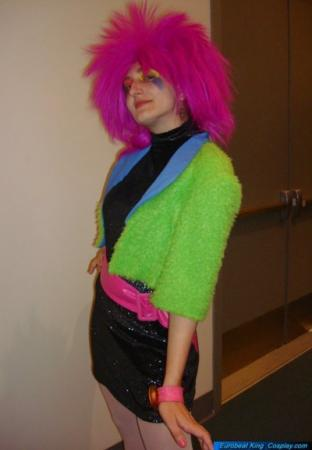 Clash from Jem and the Holograms worn by Tokyo Kitty