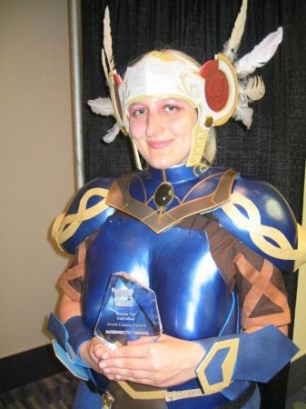 Lenneth Valkyrie from Valkyrie Profile worn by Tokyo Kitty