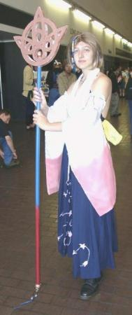 Yuna from Final Fantasy X worn by Tokyo Kitty