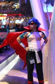 Kamina from Tengen Toppa Gurren-Lagann  by countofzar