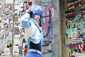 Aoba Seragaki from DRAMAtical Murder  by hiwamu
