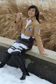 Sasha Braus from Attack on Titan  by Suzuna Karin