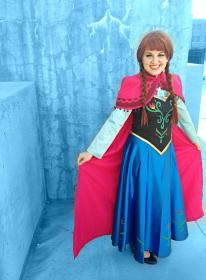 Anna from Frozen  by Jamierrandall