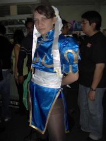 Chun Li from Street Fighter II  by Thiphireth_chikara_yume