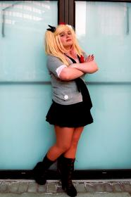 Junko Enoshima from Dangan Ronpa  by Crystalline Cosplay