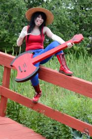Marceline the Vampire Queen from Adventure Time with Finn and Jake  by cuchinta