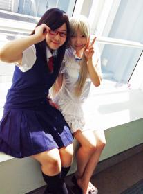 Tsuruko (Chiriko Tsurumi) from Anohana: The Flower We Saw That Day  by angelywen