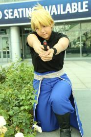Riza Hawkeye from FullMetal Alchemist: Brotherhood  by angelywen