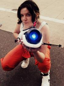 Chell from Portal  by CelticTampon